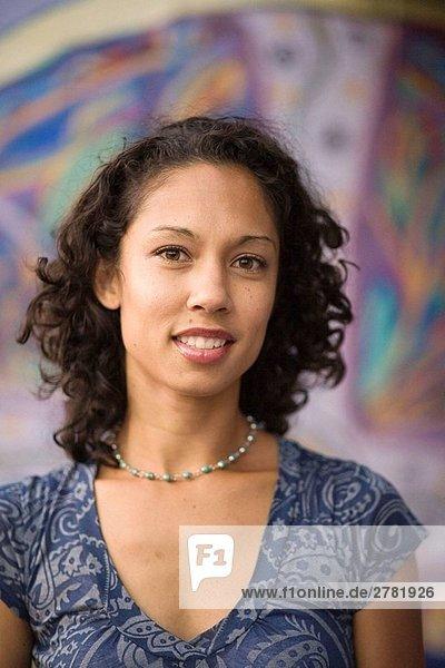 Berkeley  Kalifornien  Portrait einer jungen Frau  USA
