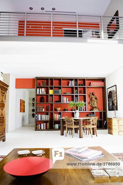 Zimmer Innenaufnahme Wohnzimmer