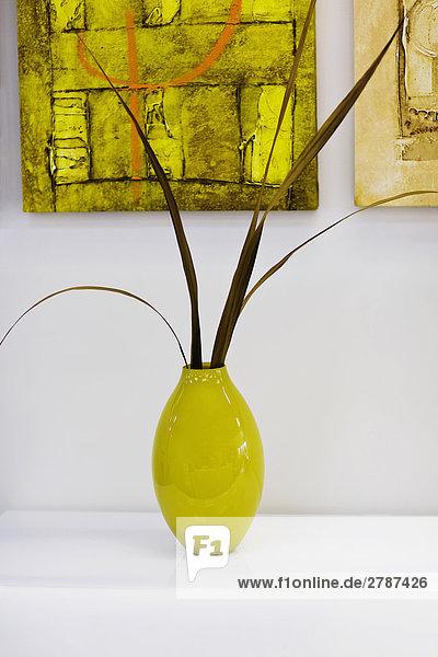 Nahaufnahme einer Vase für eine Tabelle