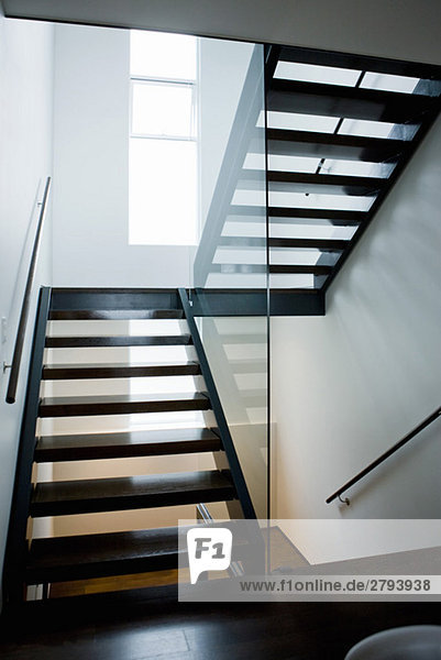 moderne treppe lizenzfreies bild bildagentur f1online 2793938. Black Bedroom Furniture Sets. Home Design Ideas