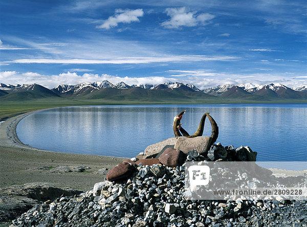 China  Tibet  Namtso See
