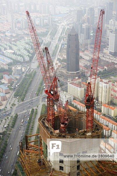 Overlook Wolkenkratzer  Shanghai