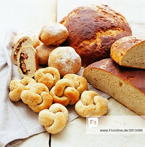 Neu gebackenes Brot Schweden.