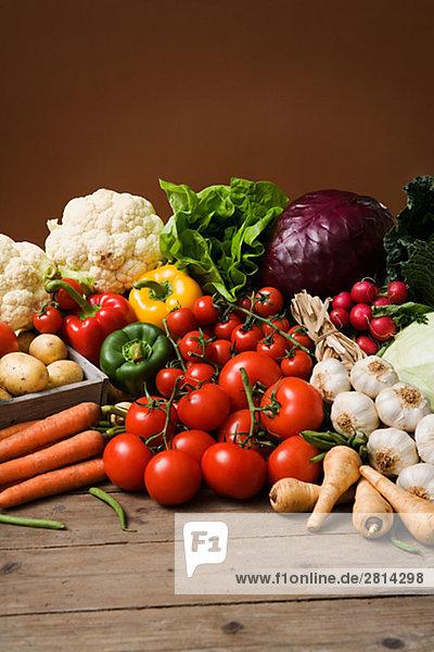 Frisches Gemüse Schweden.