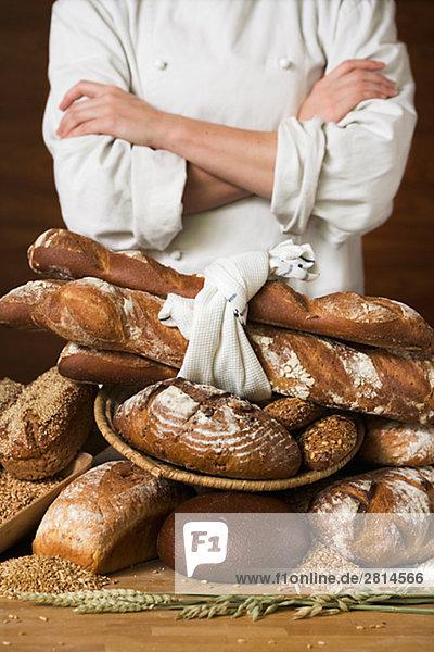 Eine Baker und Brot Schweden.
