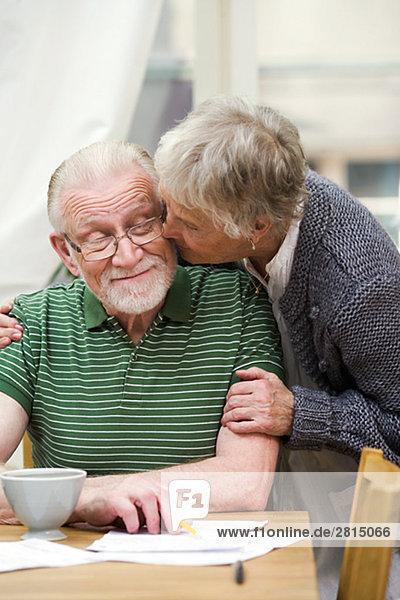 Interior zu Hause Senior Senioren