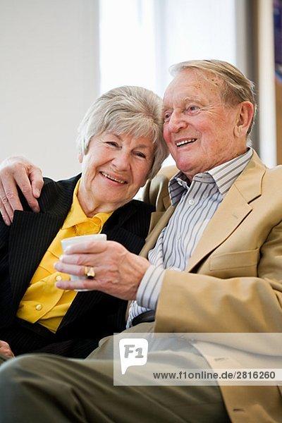 Ein altes Paar Schweden.