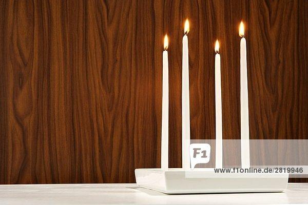 verbrennen 4 Kerze