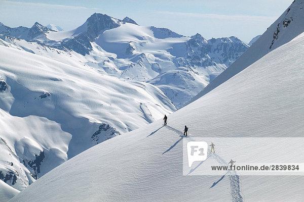 TLH Heli Ski,  Coast Mountains,  British Columbia,  Kanada.