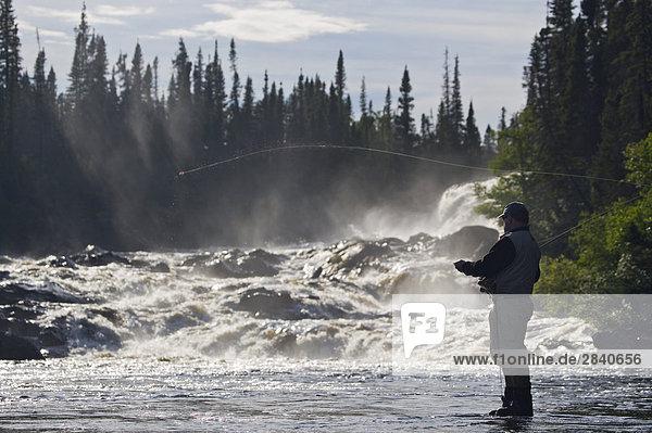 Lodge  Landhaus  angeln  Kanada  Fischer