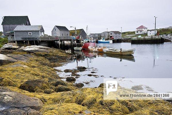 Peggy's Cove  Nova Scotia  Canada.
