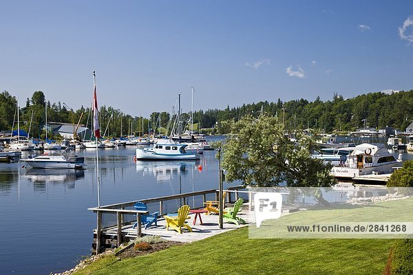 Chester harbour  Nova Scotia  Canada
