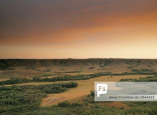 Qu'appelle Valley  Saskatchewan  Kanada