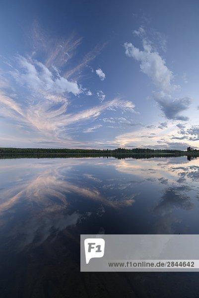 Medicine Lake  Medicine Lake Provincial Recreation Area  Alberta  Kanada