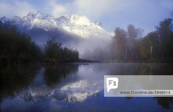 Bella Coola River  British Columbia  Kanada.