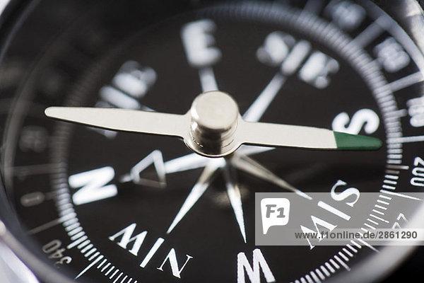 Kompass  Nahaufnahme