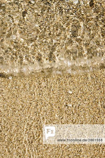 Strand  Welle  erhöhte Aussicht
