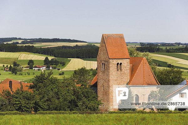 Germany  Bavaria  Bergham  St. Stephan  Pilgrimage church