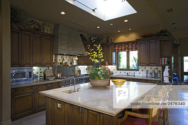 Luxuriöses Innendesign  Küche