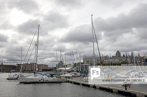 Jachthafen von Quebec  Kanada