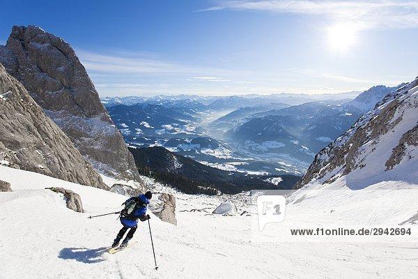 Skifahren in Rumplkammer  Österreich