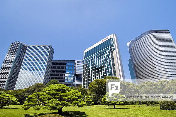 Neue Geschäfts- und Hotel Entwicklung  Shiodome  Tokio  Japan