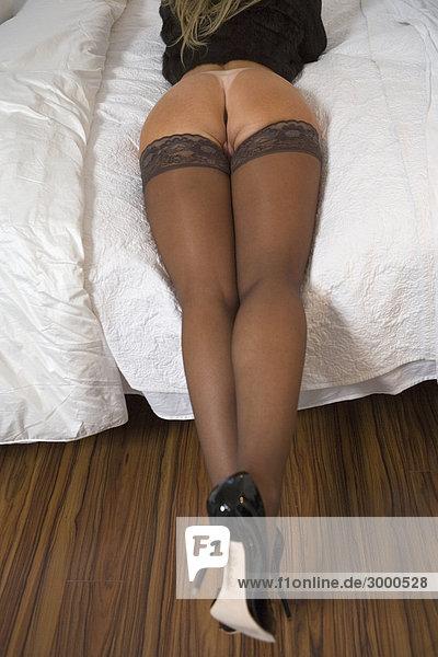Nackte Frau Stock Fotografie Bildagentur Dusche