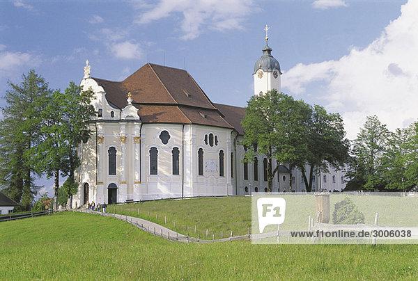 Wieskirche  Bayern  Deutschland