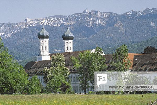 Kloster Benediktbeuern  Bayern  Deutschland