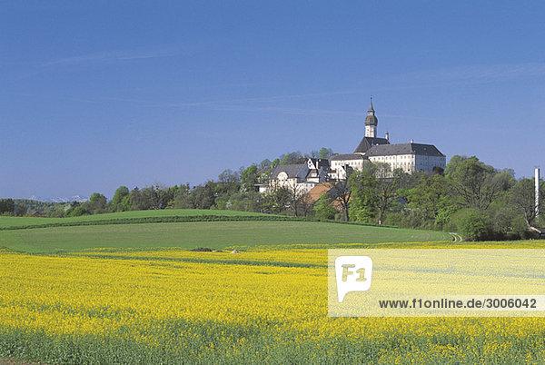 Kloster Andechs  Bayern  Deutschland