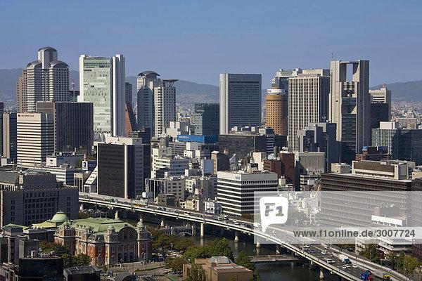 10854611  Japan  Asien  Kansai Osaka  Stadt  Stadt
