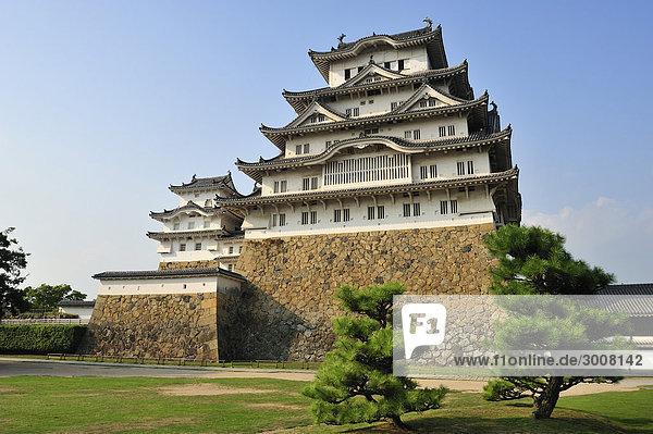 10856568  Japan  Himeji-Burg  Stadt Himeji  Präfektur Hyogo