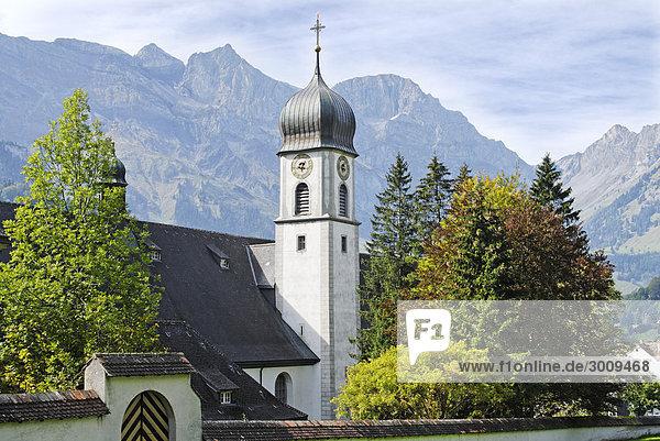 Benedictine Abbey Engelberg Cantone of Obwalden Switzerland