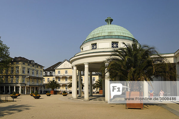 Bad Pyrmont Lower Saxony Germany Spa with Hylliger Born at the Brunnen square