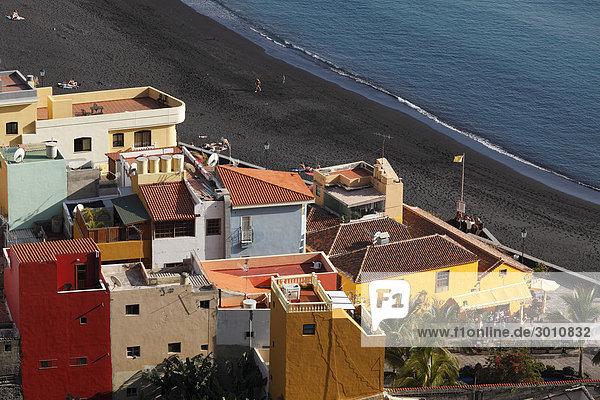 Puerto de Tazacorte  La Palma  Canary Islands  Spain  Europe