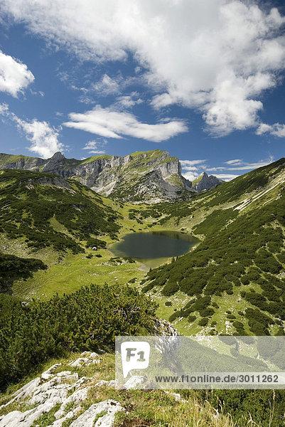 Rofangebirge und Zireiner-See Tirol  Österreich  Europa