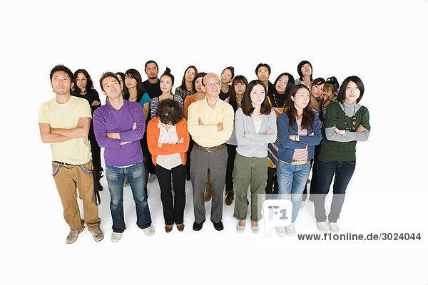 Großer Personenkreis