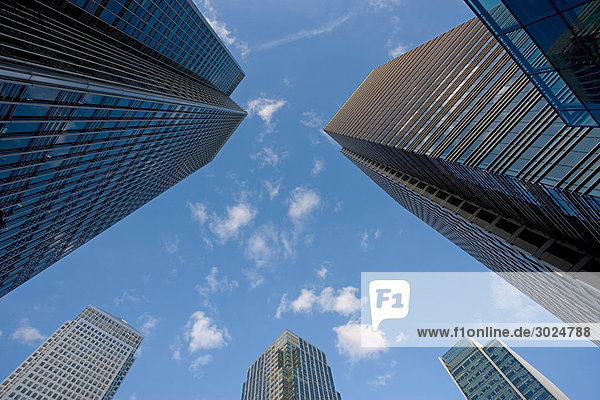 Canary Wharf Bürogebäude