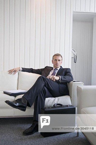 Ein Porträt eines Geschäftsmannes