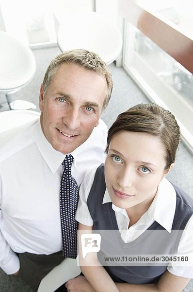 Portrait eines Geschäftspartners