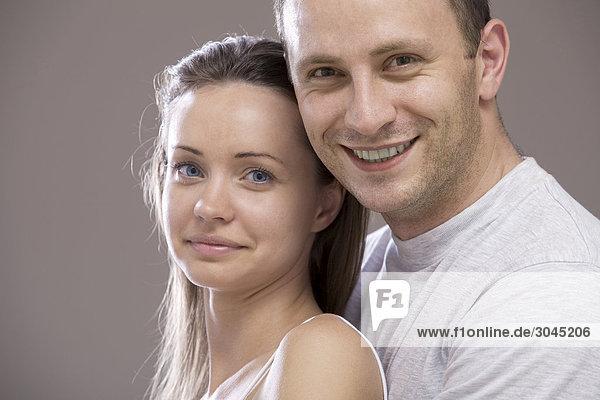 Porträt jungen Paares