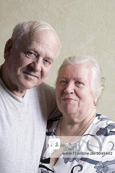 Portrait von reifes Paar