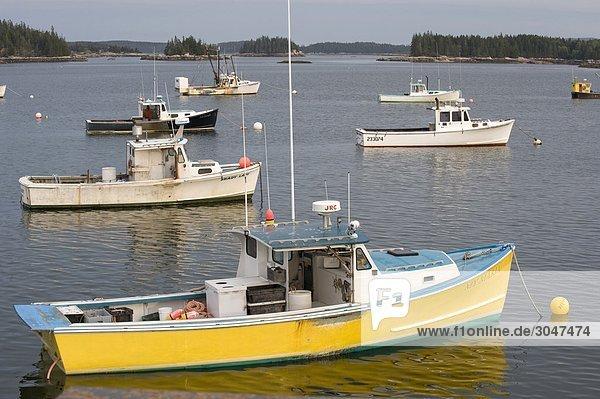 USA  Maine  Stonington  Hafen