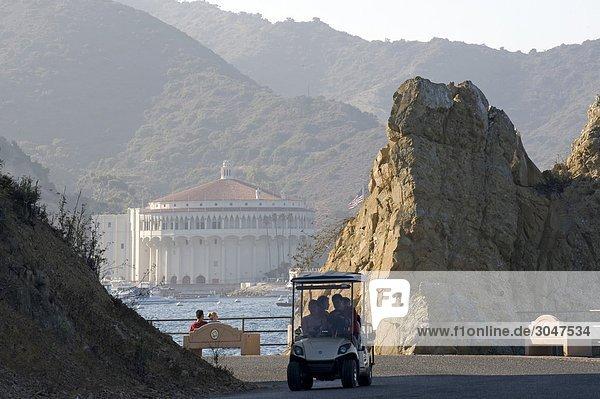 USA  California  Catalina island  Avalon  Lovers Point