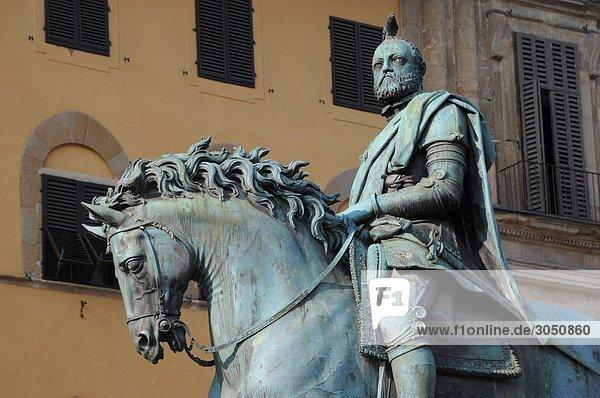 Ehrfurcht Statue Florenz Italien Toskana