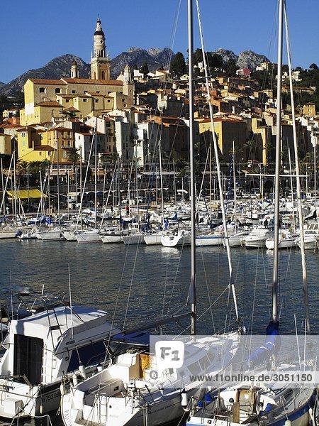 Hafen Frankreich Menton