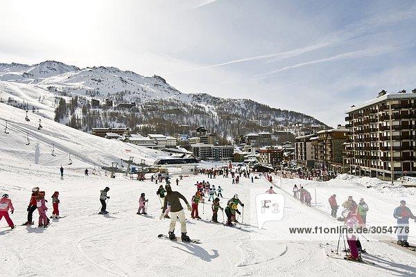 Breuil-Cervinia Aostatal Italien