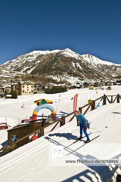 Skilanglauf Aostatal Italien
