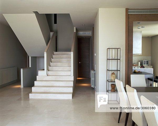 Zimmer Treppe Ansicht Wohnzimmer