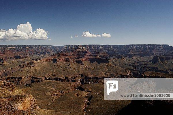 Ausblick über den Grand Canyon von Arizona  USA